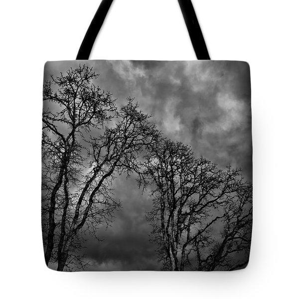 Ominous Tote Bag by Nancy Marie Ricketts
