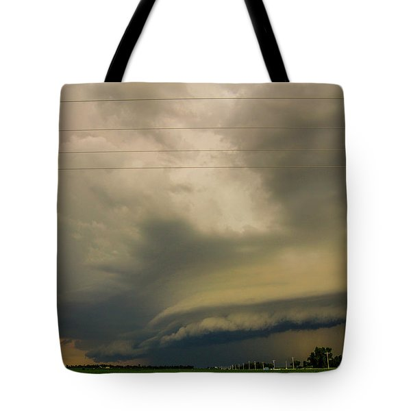 Ominous Nebraska Outflow 007 Tote Bag