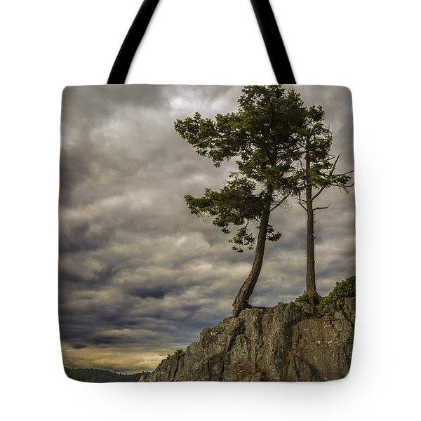 Ominous Weather Tote Bag