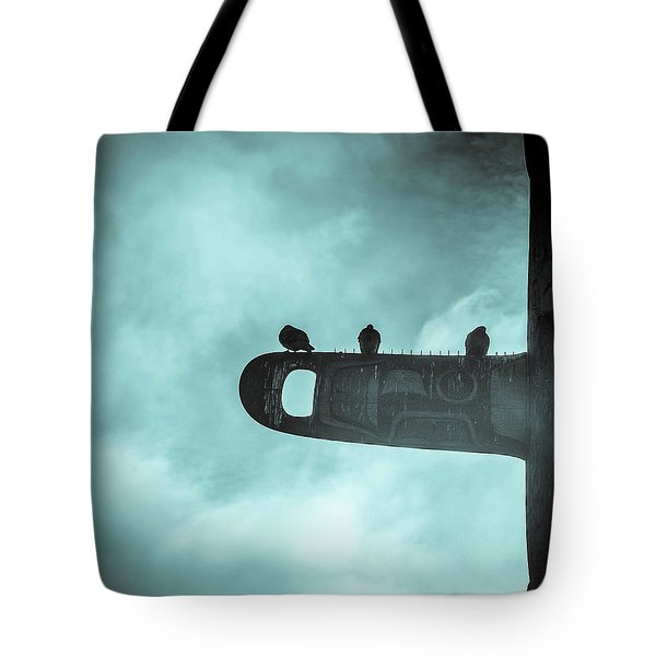Ominously Seatlle  Tote Bag