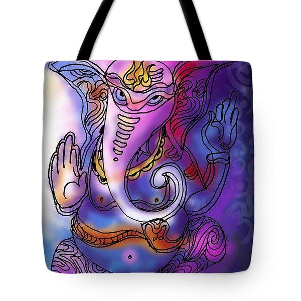Omkareshvar Ganesha Tote Bag