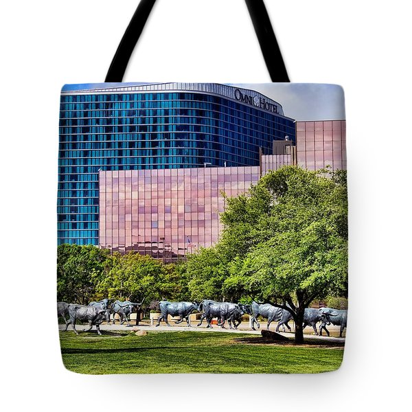 Omni Hotel Dallas Texas Tote Bag by Kathy Churchman
