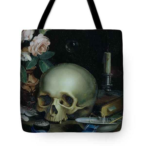 Omnia Vanitas Tote Bag