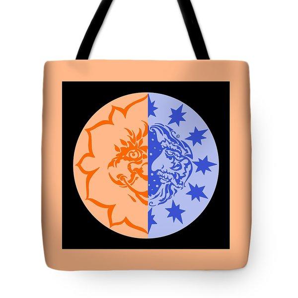 Omniscire Eclipse Logo Tote Bag by Dawn Sperry