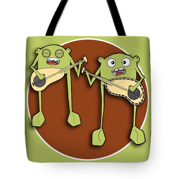 Omti And Itmo Tote Bag by Uncle J's Monsters