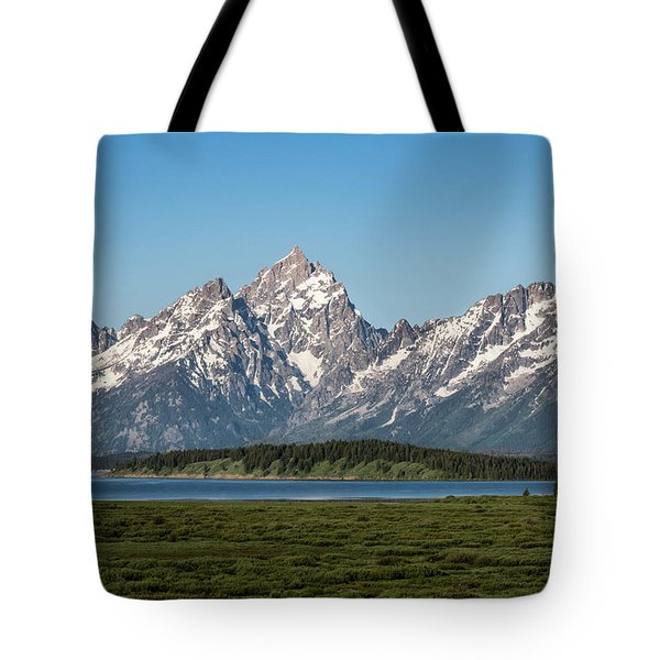 Tote Bag featuring the photograph On A Clear Day by Jan Davies