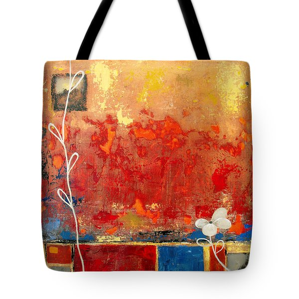 On A Clear Day Tote Bag by Ruth Palmer