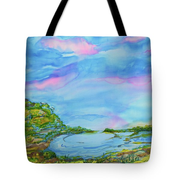 On A Clear Day Tote Bag by Susan D Moody