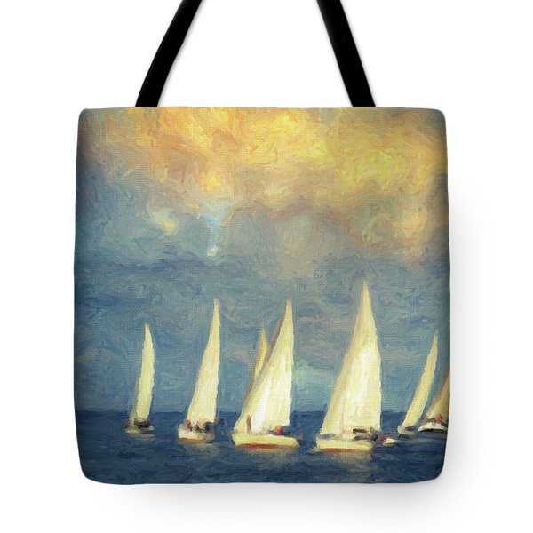 On A Day Like Today  Tote Bag