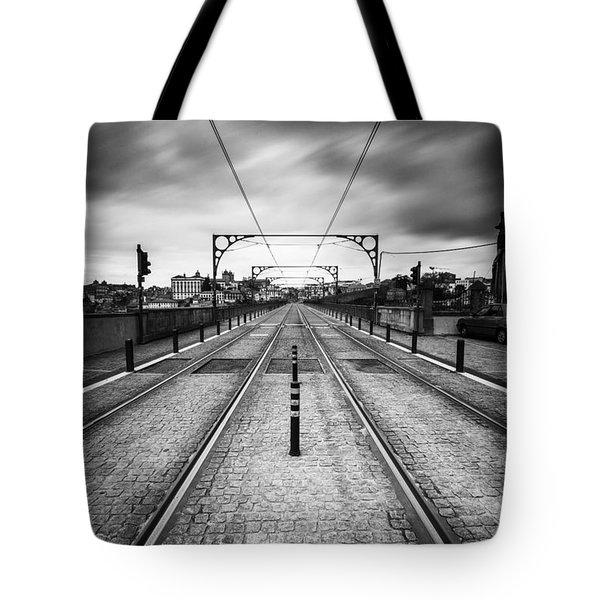 On A Gloomy Day Tote Bag