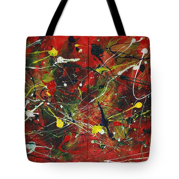 On A High Note Tote Bag by Jacqueline Athmann