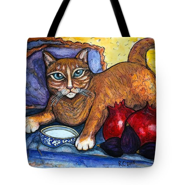 On A Lap Of Luxury Tote Bag
