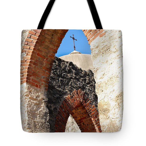Tote Bag featuring the photograph On A Mission by Debbie Karnes