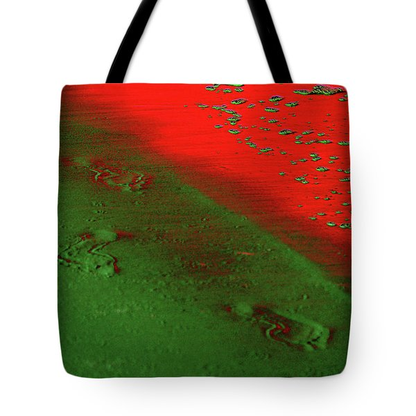 On A New Planet Tote Bag by Susanne Van Hulst