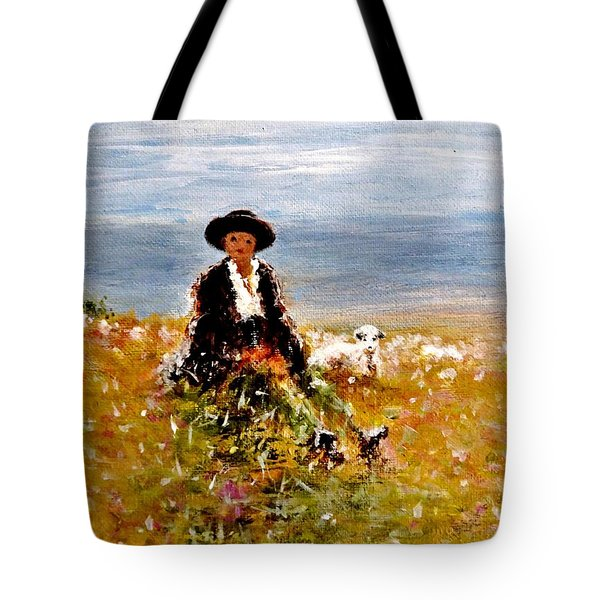 On A Peak.. Tote Bag