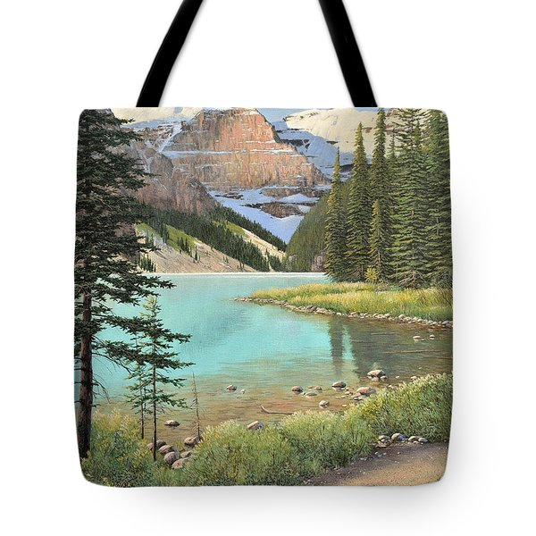 On A Summer's Day Tote Bag