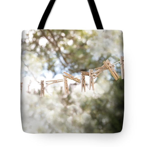 On A Sunday Tote Bag by Angie Rea