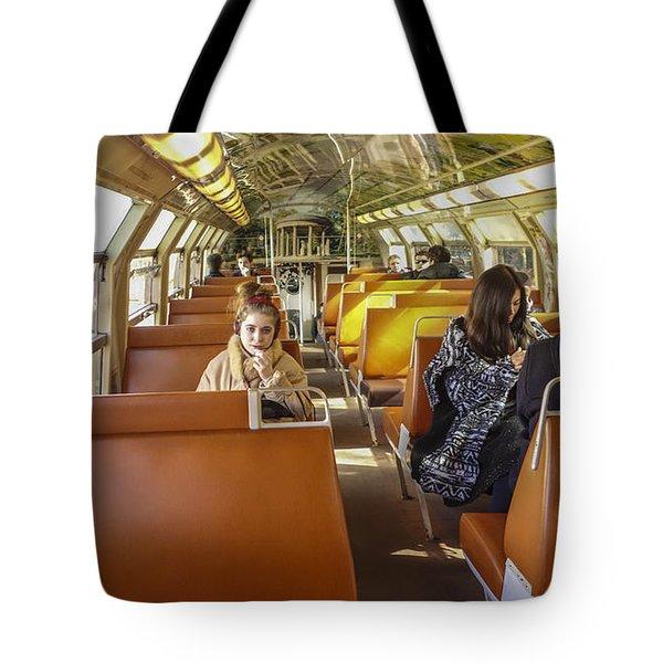 On A Train Tote Bag