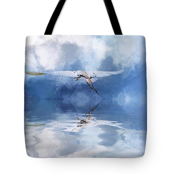 On A Wing And A Prayer Tote Bag by Cyndy Doty