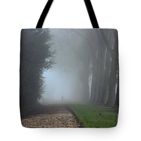 On An Autumn Day In The Mist Tote Bag