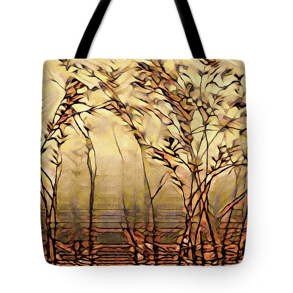 On An Untrodden Path Tote Bag