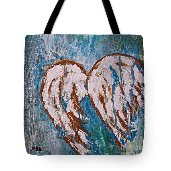 On Angel Wings Tote Bag