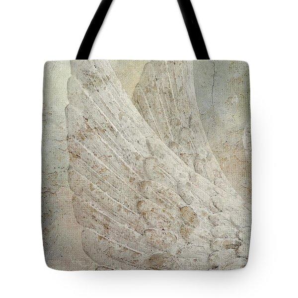 On Angels Wings 2 Tote Bag