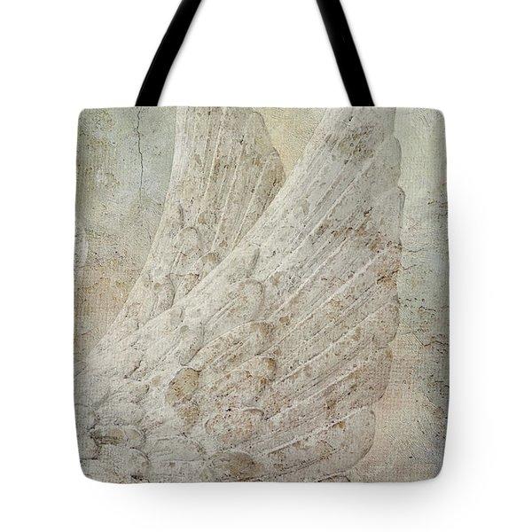 On Angels Wings Tote Bag