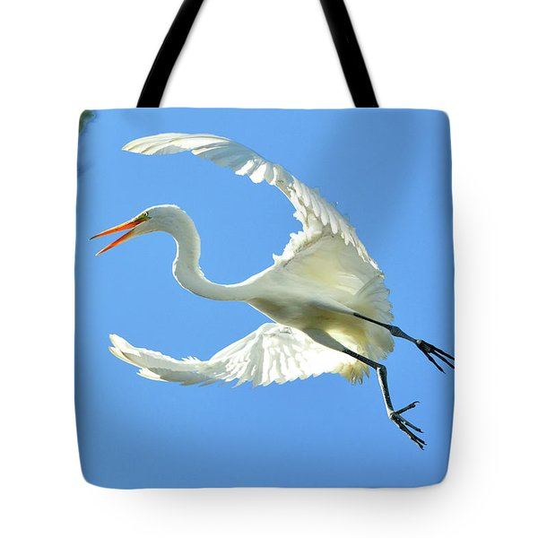 On Approach Landing 2 Tote Bag