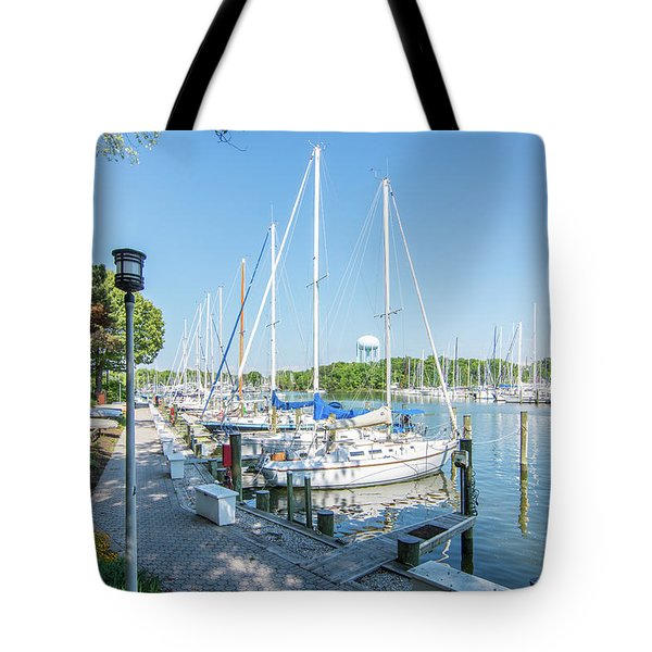 Tote Bag featuring the photograph On Back Creek by Charles Kraus