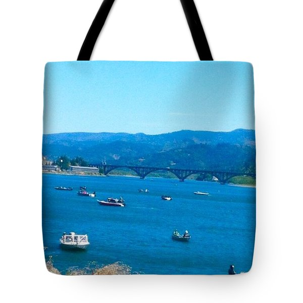 On Board For Fun  Tote Bag