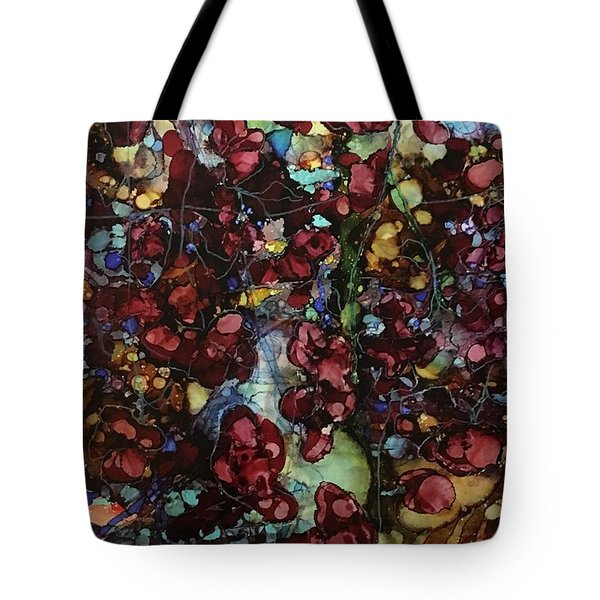 On Clustered Vine Tote Bag