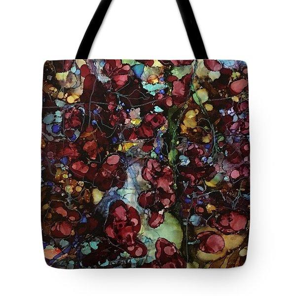 On Clustered Vine Tote Bag
