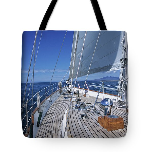 On Deck Off Mexico Tote Bag