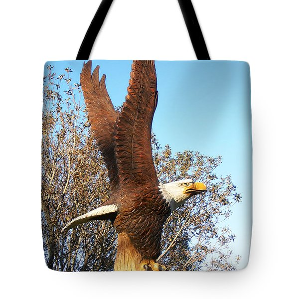 On Eagles Wings II Tote Bag
