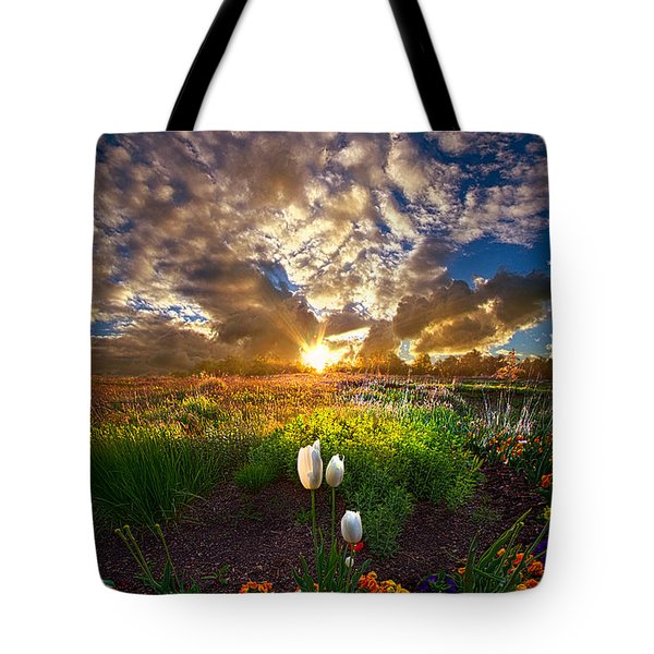 On Earth As It Is In Heaven Tote Bag
