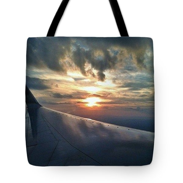 On Flight Tote Bag