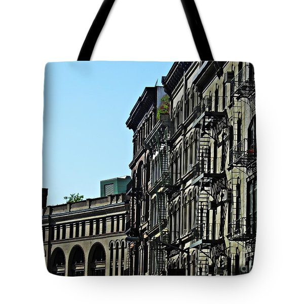 On Franklin Street Tote Bag by Sarah Loft