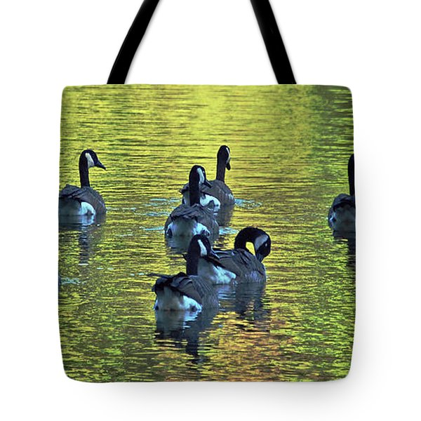 On Golden Pond Tote Bag by DigiArt Diaries by Vicky B Fuller