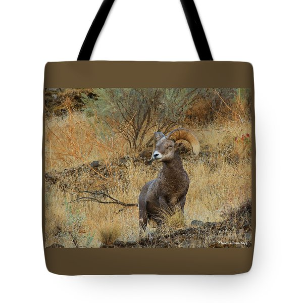 On Guard Tote Bag by Steve Warnstaff