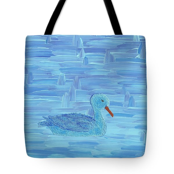 On His Way IIi Tote Bag