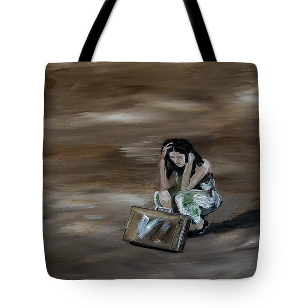 On My Own Tote Bag by Leslie Allen