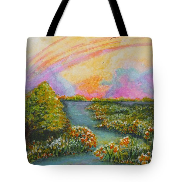 On My Way Tote Bag by Holly Carmichael