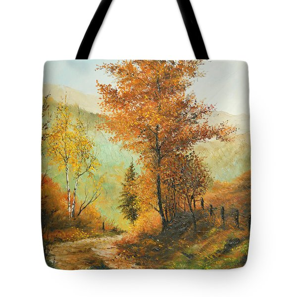 On My Way Home Tote Bag