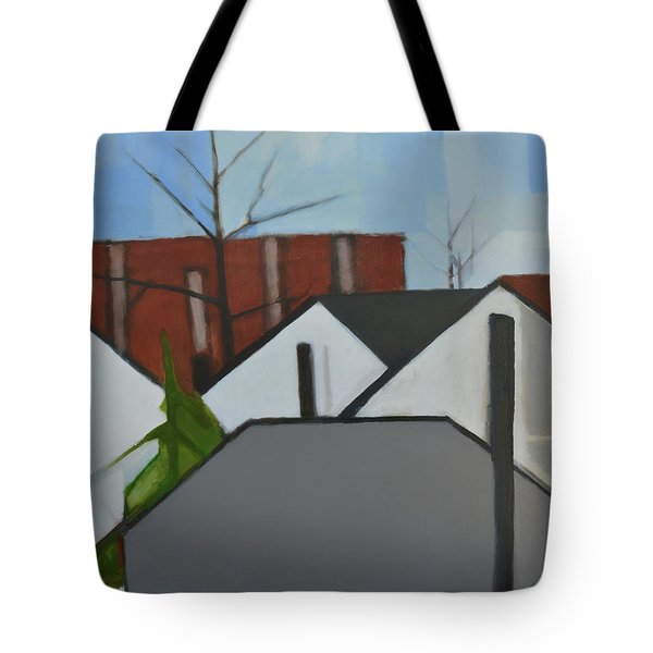 On Palisade Tote Bag by Ron Erickson