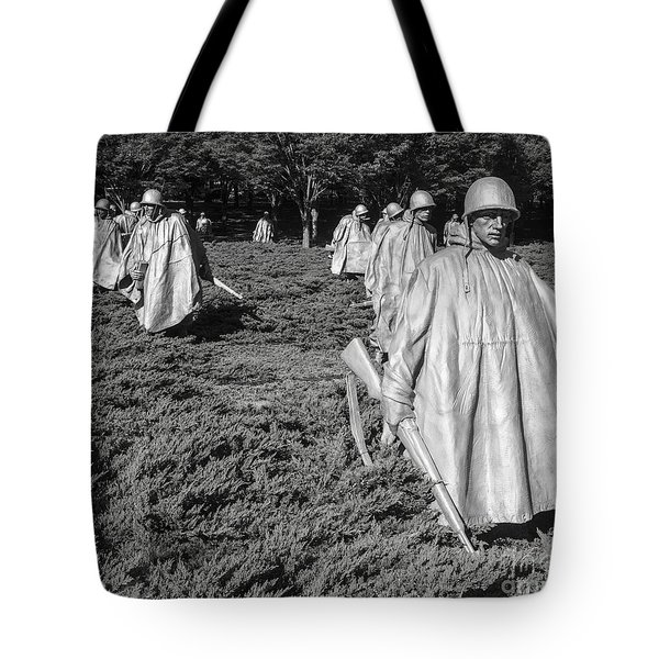 Tote Bag featuring the photograph On Patrol 1 by ELDavis Photography