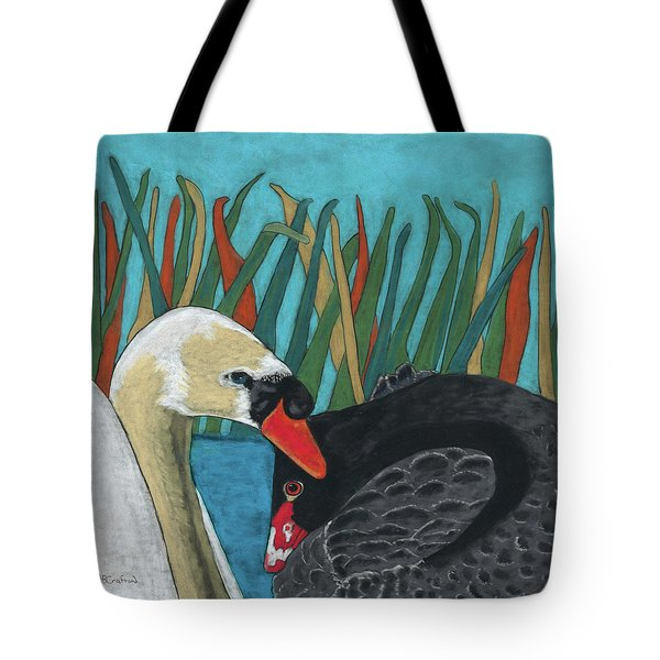 On Peaceful Pond Tote Bag