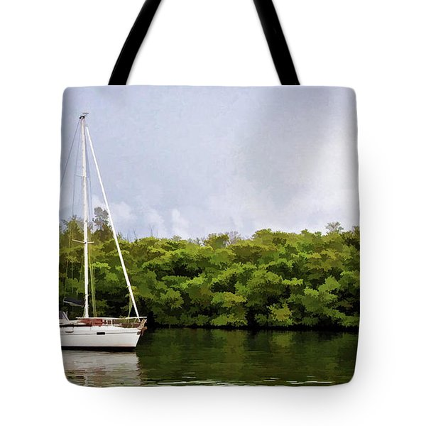 On Quiet Waters Tote Bag