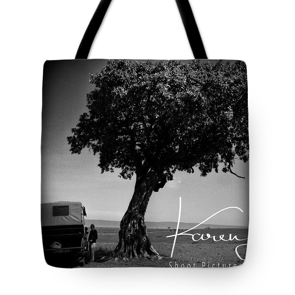 Tote Bag featuring the photograph On Safari by Karen Lewis
