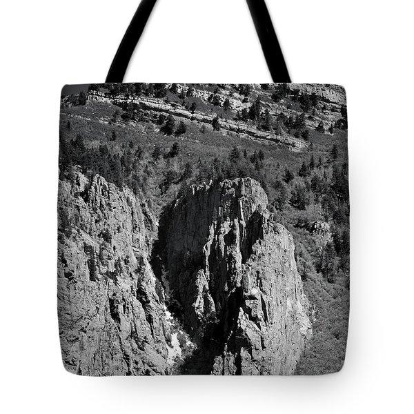On Sandia Mountain Tote Bag